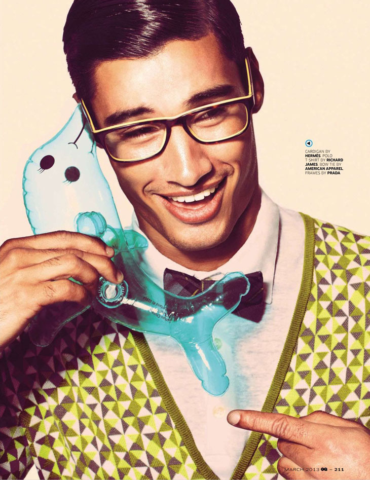 Kumar by Squiz Hamilton for GQ India