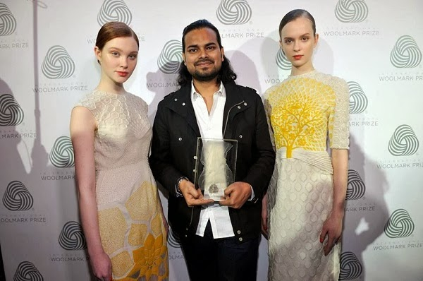 Rahul Mishra and his 2014 Woolmark Award Winning  Designs