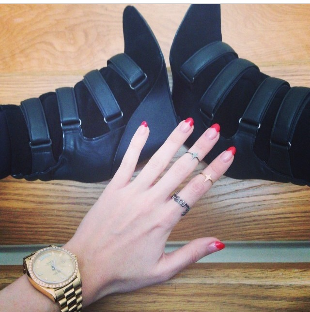 Mango Boots and Dreamy Rings