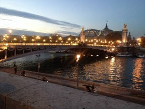 La Seine at Dusk